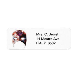 Venetian Masque: Carnival Jewel Label