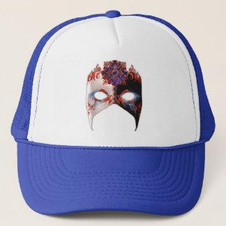 Venetian Masque: Carnival Jewel Trucker Hat
