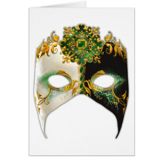 Venetian Masque: Emerald Jewel Card