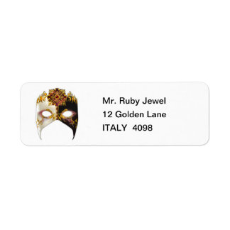 Venetian Masque: Ruby Jewel Label