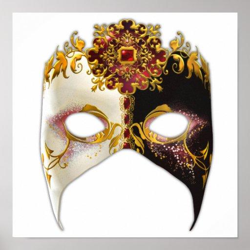 Venetian Masque: Ruby Jewel Posters
