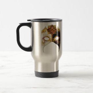 Venetian Masque: Ruby Jewel Travel Mug