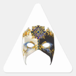 Venetian Masque: Sapphire Jewel Triangle Stickers