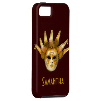 Venetian Masquerade Carnival Mask iPhone Case iPhone 5 Cover
