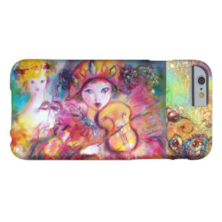 VENETIAN MASQUERADE / HARLEQUIN AND COLUMBINE BARELY THERE iPhone 6 CASE