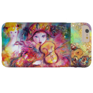 VENETIAN MASQUERADE / HARLEQUIN AND COLUMBINE BARELY THERE iPhone 6 PLUS CASE