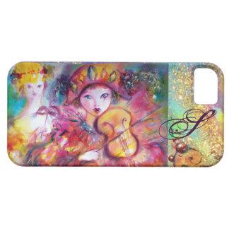 VENETIAN MASQUERADE / HARLEQUIN AND COLUMBINE iPhone SE/5/5s CASE