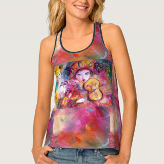 VENETIAN MASQUERADE / HARLEQUIN AND COLUMBINE TANK TOP