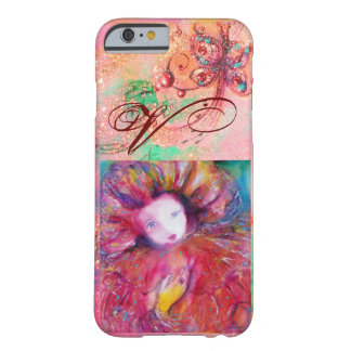 VENETIAN MASQUERADE - MASK IN RED MONOGRAM BARELY THERE iPhone 6 CASE