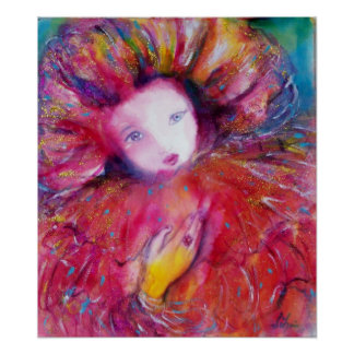 VENETIAN MASQUERADE /MASK IN RED POSTER