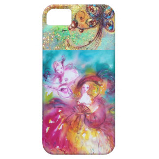 VENETIAN MASQUERADE / PIERROT AND ARLECCHINA iPhone 5 CASES