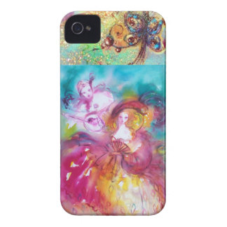 VENETIAN MASQUERADE / PIERROT AND ARLECCHINA iPhone 4 CASE