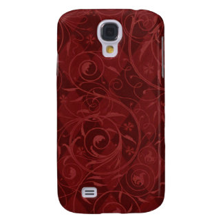 Venetian Medley in Red Galaxy S4 Covers