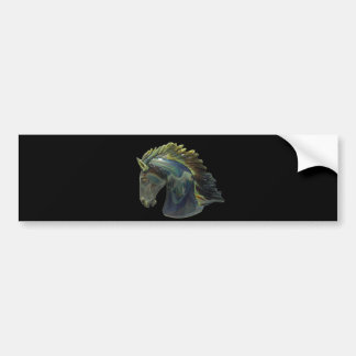 Venetian Murano Glass Horse Bumper Sticker