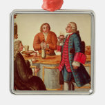 Venetian Noblemen in a Cafe Ornaments