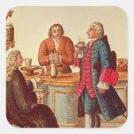 Venetian Noblemen in a Cafe Sticker