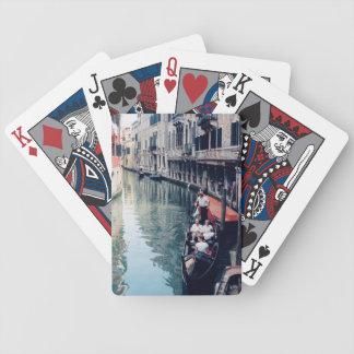 Venetian Playing Cards - Gondola in Venice, Italy