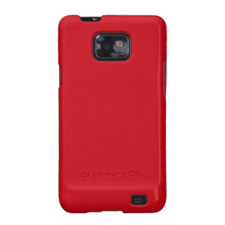 Venetian Red Galaxy S2 Cases