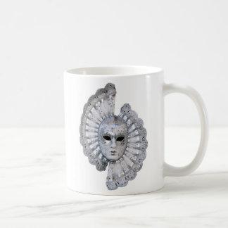Venetian Silver Mask Classic Mug