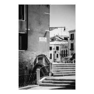 Venetian Streets and Canals - Photo Print