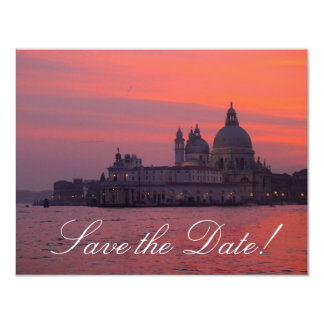 Venetian Sunset Save-the-Date Cards