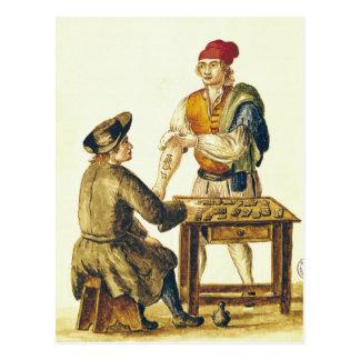 Venetian Tattooer Postcard