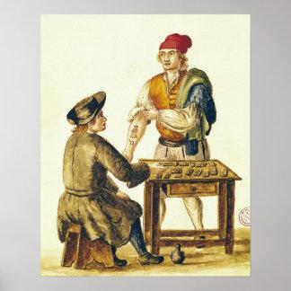 Venetian Tattooer Poster
