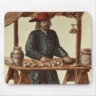 Venetian Tobacco Vendor Mouse Pad