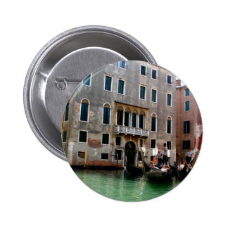 Venetian Traffic Pinback Button