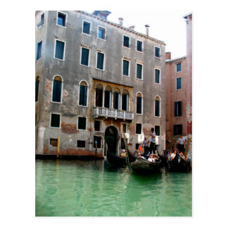 Venetian Traffic Postcard
