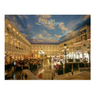 Venetian Vegas Resort Postcard