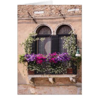 Venetian Window Notecard