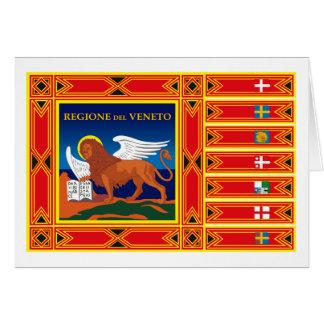 Veneto Flag Greeting Card