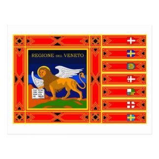 Véneto señala por medio de una bandera postal