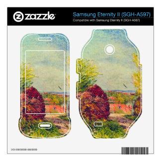 Veneux-Nadon in the spring by Alfred Sisley Samsung Eternity II Decal