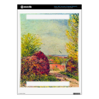 Veneux-Nadon in the spring by Alfred Sisley Xbox 360 Console Skin