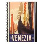 Venezia 1920 spiral notebook