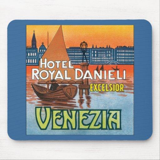 Venezia Hotel Royal Danieli Mouse Pad