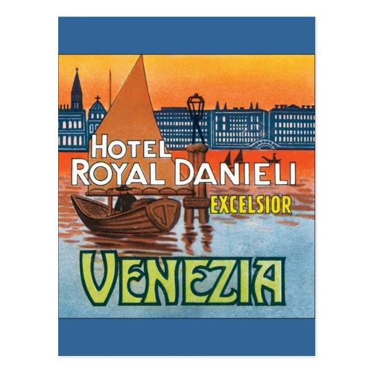 Venezia Hotel Royal Danieli Postcard