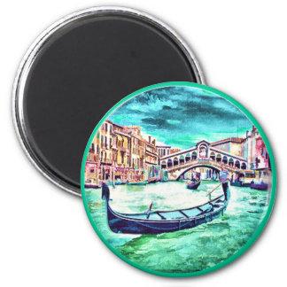Venezia, Italy 2 Inch Round Magnet