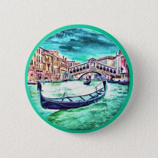 Venezia, Italy Button