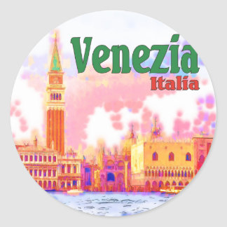 Venezia, Italy Classic Round Sticker