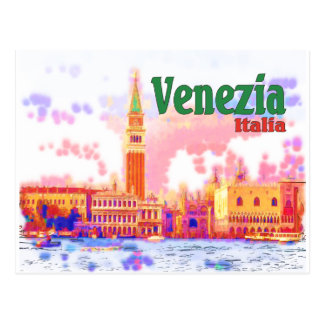 Venezia, Italy Postcard