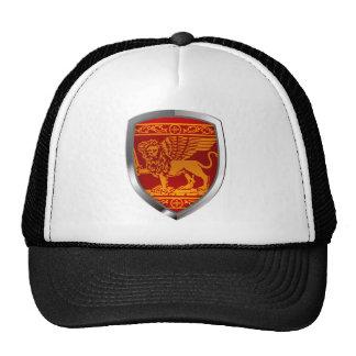 Venezia Mettalic Emblem Trucker Hat