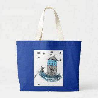 venezia..on the move.. large tote bag