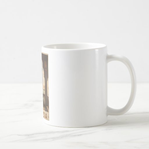 Venezia poster design coffee mug