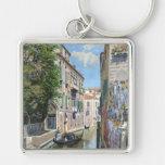 Venezia Venecia Italia, poster del viaje del vinta Llavero Personalizado