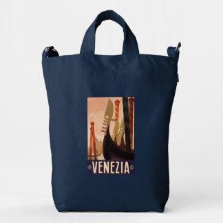 Venezia Venice Italy vintage travel duck bag