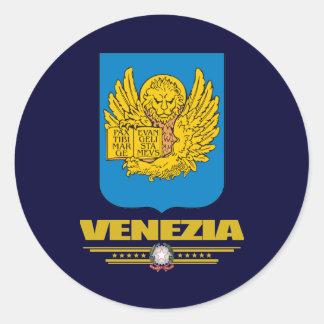 Venezia (Venice) Round Stickers