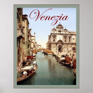 Venezia ~ Vintage Travel Poster